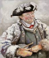 Dinner Time- British Fur Trader  1700's period dre