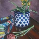 """""""My Secret Garden: Polish Pottery XXXI"""" by 88heather"""
