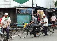 Public bicycle on Pinangsia Raya street_Jakarta_Ph