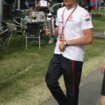 """Heikki Kovalainen"" by achinnick"