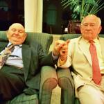 """Labe and Ed Asner- Kansas City, 2004"" by masner"