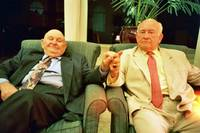 Labe and Ed Asner- Kansas City, 2004