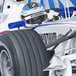 """Nick Heidfeld, BMW Sauber F1 2007"" by Kart-Race-Art"