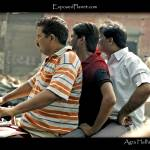 """Agra Hells Angels: guys on a bike in India"" by ExposedPlanet"