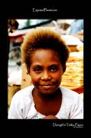 Dani girl in Timika, Papua