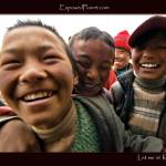 """Let me in! Tibetan children.."" by ExposedPlanet"