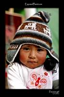 Little Girl from Puno, Lake Titicaca, Peru.