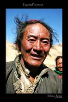 Tibetan Farmer with wife