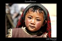 Tibetan girl with sweater
