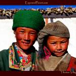"""Happy and scepticTibetan Village girls"" by ExposedPlanet"
