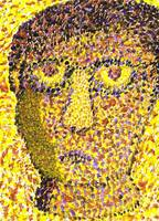 Pointillist Self-Portrait