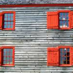 """Red Windows Shelburne"" by swisscan"