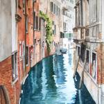 """canal in venice"" by Cas"
