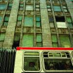 """""""Bus and building in the backgroud"""" by wouinet"""