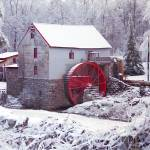 """Snow at the Old Mill"" by PadgettGallery"
