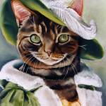 """Portrait of a Cat"" by maryostudio"