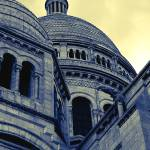 """Sacre Coeur IV gradient map"" by dpw-shane"