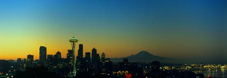 Seattle Sunrise from Kerry Park