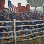 """1DH430 Civil War Mural"" by jimcrotty"