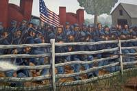 1DH430 Civil War Mural