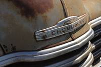 Old Chevrolet: Front End of a Classic
