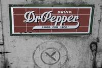 Vintage Dr Pepper Machine
