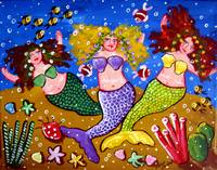 3 Mermaids Party