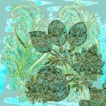 """Paisley Sea Floral"" by ashjoielee"