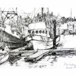 """Moss landing boats v final"" by saz"