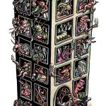 """Stinky Animal Building"" by LisaHaney"