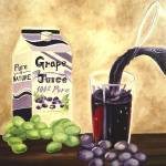 """""""Purely Grape Juice"""" by WeshonHornsby"""
