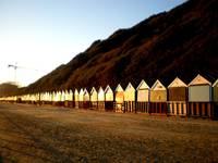 golden beach huts