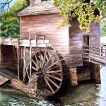 """Stone Mountain GRIST MILL"" by Cas"