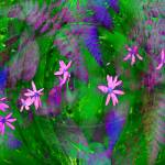 """Dainty pink flowers"" by elayne"