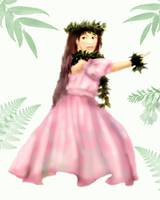 Pretty Hula Girl