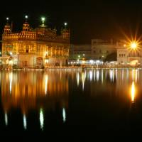 """Night time Golden Temple"" by SikhPhotos.com Gallery"