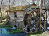 Reeds Spring Mill in January