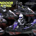 """Winter 2008 Sykart Indoor Racing League Poster"" by Kart-Race-Art"