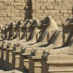 """Avenue of the Lions Karnak Temple"" by kapex"