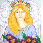"""Spring Angel"" by Tessimal"