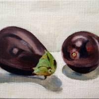 aubergine Art Prints & Posters by Sarah Lynch