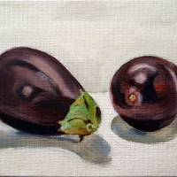 aubergine Art Prints & Posters by Sarah Lynch
