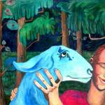 """girl and goat"" by rocroy"