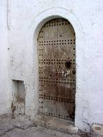 Old World Moroccan Door