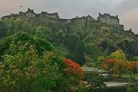 Edinburgh Castle in the Autumn