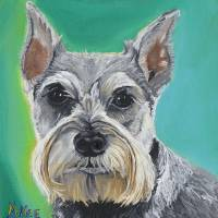 Schnauzer Art Prints & Posters by Michelle Noe