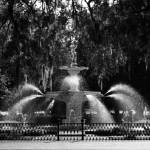 """Savannah Fountain No. 2, Georgia"" by PadgettGallery"
