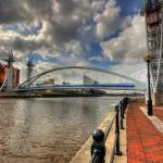 """View from Salford Quays - HDR"" by LOBSTERGIRLFROMMARS"