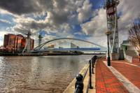 View from Salford Quays - HDR
