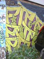 Yellow graffiti